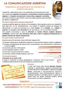 Comunicazione assertiva Roma locandina