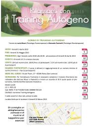 Corso Training Autogeno_Roma_Musci_Pasinetti